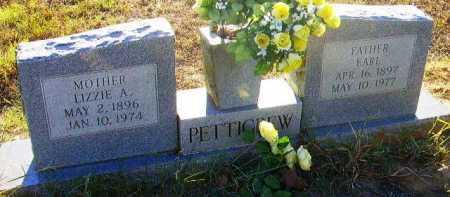 PETTIGREW, EARL - Sevier County, Arkansas | EARL PETTIGREW - Arkansas Gravestone Photos