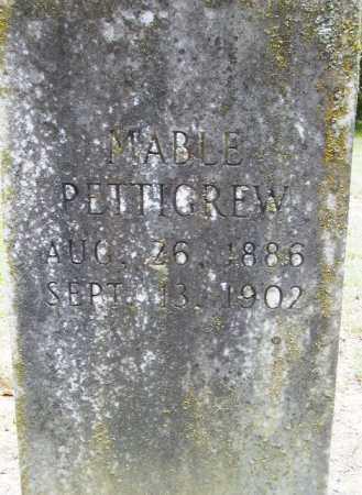 PETTIGREW, MABLE (CLOSEUP) - Sevier County, Arkansas | MABLE (CLOSEUP) PETTIGREW - Arkansas Gravestone Photos