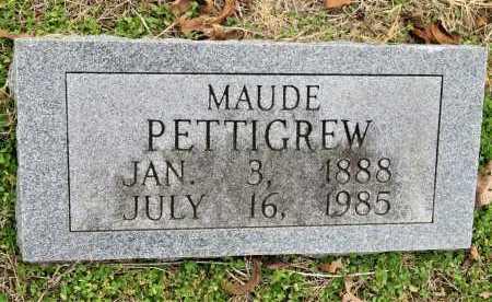 PETTIGREW, MAUDE - Sevier County, Arkansas | MAUDE PETTIGREW - Arkansas Gravestone Photos