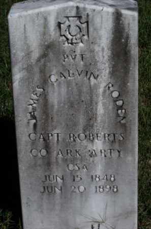 RODEN (CSA), JAMES CALVIN - Sevier County, Arkansas | JAMES CALVIN RODEN (CSA) - Arkansas Gravestone Photos