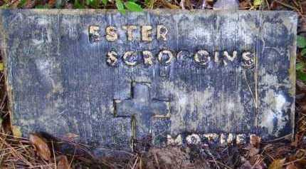SCROGGINS, ESTER - Sevier County, Arkansas | ESTER SCROGGINS - Arkansas Gravestone Photos