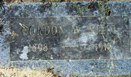 STEEL, GORDON W. - Sevier County, Arkansas | GORDON W. STEEL - Arkansas Gravestone Photos
