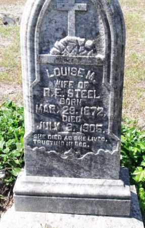 STEEL, LOUISE M. - Sevier County, Arkansas | LOUISE M. STEEL - Arkansas Gravestone Photos