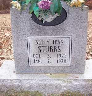 STUBBS, BETTY JEAN - Sevier County, Arkansas | BETTY JEAN STUBBS - Arkansas Gravestone Photos