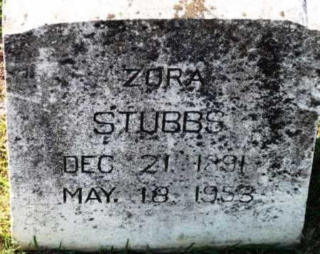 STUBBS, ZORA TROY - Sevier County, Arkansas   ZORA TROY STUBBS - Arkansas Gravestone Photos