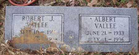 VALLEE, ROBERT J - Sevier County, Arkansas | ROBERT J VALLEE - Arkansas Gravestone Photos
