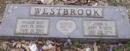 BROWN WESTBROOK, MALLIE RAY - Sevier County, Arkansas | MALLIE RAY BROWN WESTBROOK - Arkansas Gravestone Photos