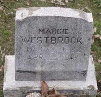 WESTBROOK, MARGIE - Sevier County, Arkansas | MARGIE WESTBROOK - Arkansas Gravestone Photos