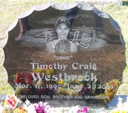 WESTBROOK, TIMOTHY CRAIG - Sevier County, Arkansas | TIMOTHY CRAIG WESTBROOK - Arkansas Gravestone Photos