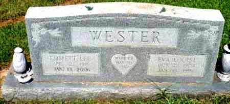 WESTER, EMMETT LEE - Sevier County, Arkansas | EMMETT LEE WESTER - Arkansas Gravestone Photos