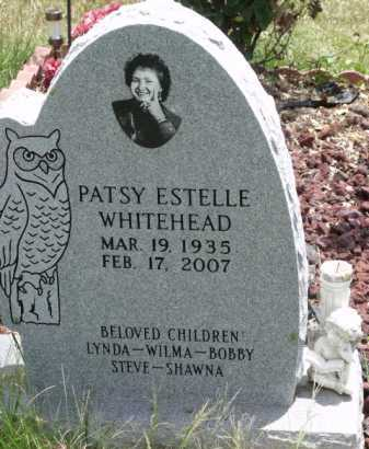 WHITEHEAD, PATSY ESTELLE - Sevier County, Arkansas | PATSY ESTELLE WHITEHEAD - Arkansas Gravestone Photos
