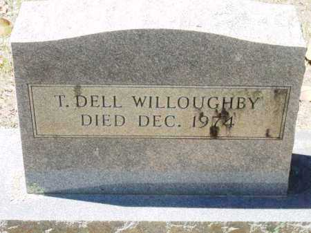 WILLOUGHBY, T DELL - Sevier County, Arkansas | T DELL WILLOUGHBY - Arkansas Gravestone Photos