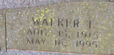 ZACHRY, WALKER T (CLOSE UP) - Sevier County, Arkansas | WALKER T (CLOSE UP) ZACHRY - Arkansas Gravestone Photos