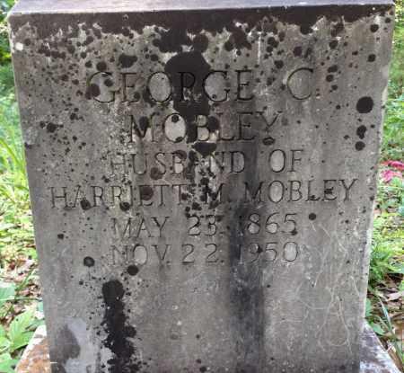 MOBLEY, GEORGE  C - Sharp County, Arkansas | GEORGE  C MOBLEY - Arkansas Gravestone Photos