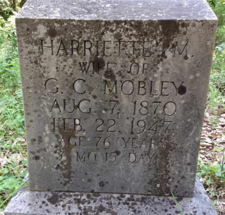 MOBLEY, HARRIETTE M - Sharp County, Arkansas | HARRIETTE M MOBLEY - Arkansas Gravestone Photos
