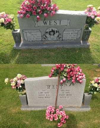 WEST, ANNA RUTH - Sharp County, Arkansas | ANNA RUTH WEST - Arkansas Gravestone Photos