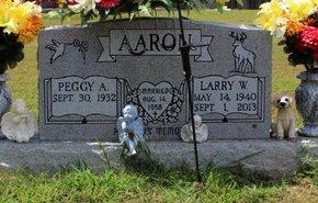 AARON, LARRY W. - Sharp County, Arkansas | LARRY W. AARON - Arkansas Gravestone Photos