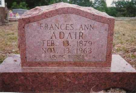 ADAIR, FRANCES ANN CARVER RUSHING - Sharp County, Arkansas | FRANCES ANN CARVER RUSHING ADAIR - Arkansas Gravestone Photos