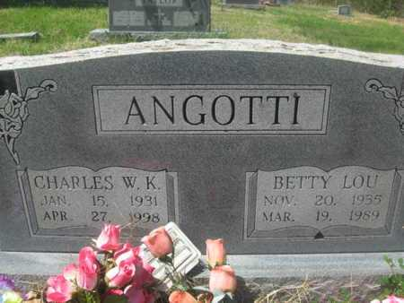 POHNERT ANGOTTI, BETTY LOU - Sharp County, Arkansas | BETTY LOU POHNERT ANGOTTI - Arkansas Gravestone Photos