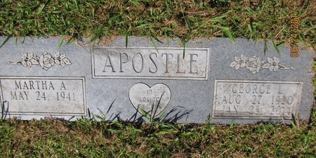 APOSTLE, GEORGE  L - Sharp County, Arkansas   GEORGE  L APOSTLE - Arkansas Gravestone Photos