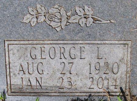 APOSTLE, GEORGE L (CLOSE UP) - Sharp County, Arkansas   GEORGE L (CLOSE UP) APOSTLE - Arkansas Gravestone Photos
