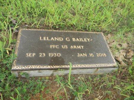 BAILEY(VET ARMY), LELAND G. - Sharp County, Arkansas | LELAND G. BAILEY(VET ARMY) - Arkansas Gravestone Photos