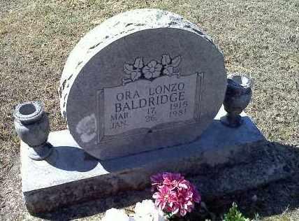 BALDRIDGE, ORA LONZO - Sharp County, Arkansas | ORA LONZO BALDRIDGE - Arkansas Gravestone Photos