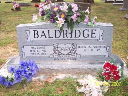 BALDRIDGE, PAUL DENNIS - Sharp County, Arkansas   PAUL DENNIS BALDRIDGE - Arkansas Gravestone Photos