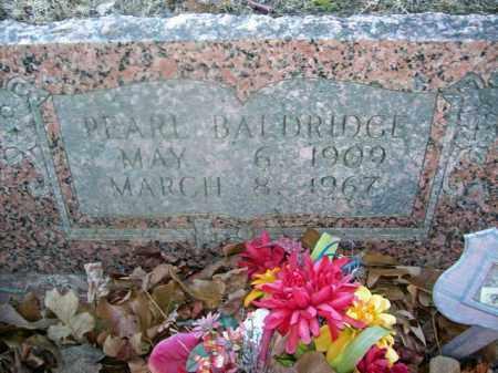 WICKER BALDRIDGE, PEARL - Sharp County, Arkansas | PEARL WICKER BALDRIDGE - Arkansas Gravestone Photos