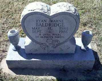 BALDRIDGE, RYAN WAYNE - Sharp County, Arkansas   RYAN WAYNE BALDRIDGE - Arkansas Gravestone Photos