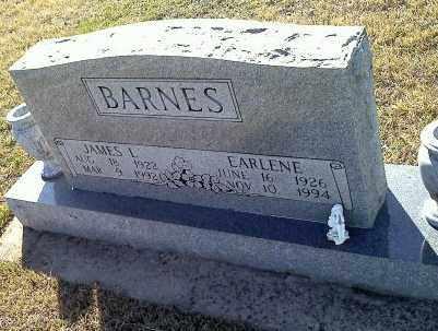 BARNES, EARLENE - Sharp County, Arkansas | EARLENE BARNES - Arkansas Gravestone Photos