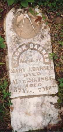 BARNES, JACOB - Sharp County, Arkansas | JACOB BARNES - Arkansas Gravestone Photos