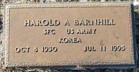 BARNHILL (VETERAN KOR), HAROLD A - Sharp County, Arkansas | HAROLD A BARNHILL (VETERAN KOR) - Arkansas Gravestone Photos