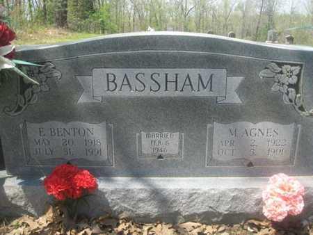BASSHAM, E BENTON - Sharp County, Arkansas | E BENTON BASSHAM - Arkansas Gravestone Photos
