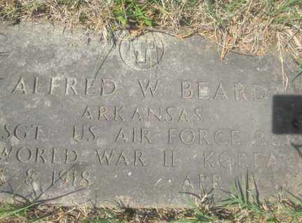 BEARD  (VETERAN 2WARS), ALFRED W - Sharp County, Arkansas   ALFRED W BEARD  (VETERAN 2WARS) - Arkansas Gravestone Photos