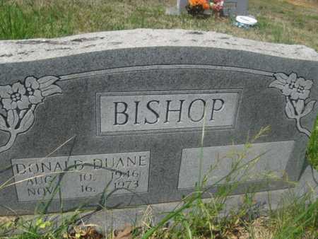 BISHOP, DONALD DUANE - Sharp County, Arkansas   DONALD DUANE BISHOP - Arkansas Gravestone Photos