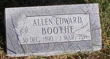 BOOTHE, ALLEN EDWARD - Sharp County, Arkansas | ALLEN EDWARD BOOTHE - Arkansas Gravestone Photos