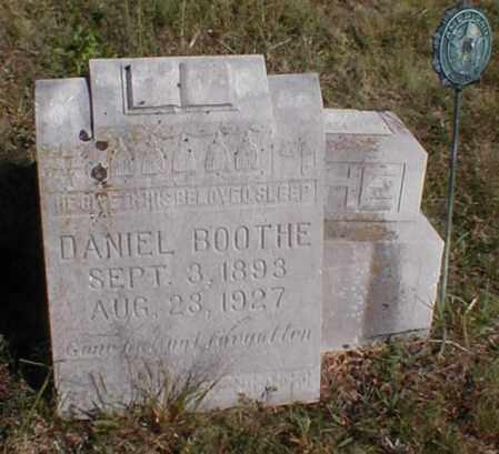 BOOTHE, DANIEL - Sharp County, Arkansas | DANIEL BOOTHE - Arkansas Gravestone Photos
