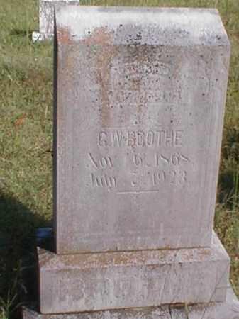 "BOOTHE, GEORGE W. ""G. W."" - Sharp County, Arkansas | GEORGE W. ""G. W."" BOOTHE - Arkansas Gravestone Photos"