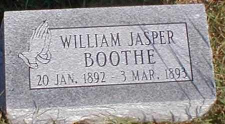 BOOTHE, WILLIAM JASPER - Sharp County, Arkansas   WILLIAM JASPER BOOTHE - Arkansas Gravestone Photos