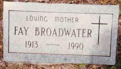 ADAIR BROADWATER, BULENE FAY - Sharp County, Arkansas | BULENE FAY ADAIR BROADWATER - Arkansas Gravestone Photos