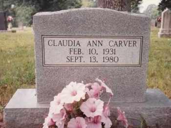 CARVER, CLAUDIA ANN - Sharp County, Arkansas | CLAUDIA ANN CARVER - Arkansas Gravestone Photos