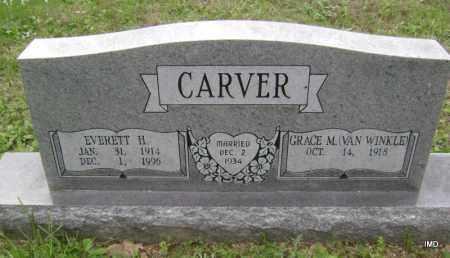 CARVER, EVERETT H - Sharp County, Arkansas | EVERETT H CARVER - Arkansas Gravestone Photos
