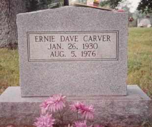 CARVER, ERNIE DAVE - Sharp County, Arkansas   ERNIE DAVE CARVER - Arkansas Gravestone Photos