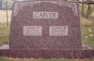 CARVER, CARRIE PALMYRA - Sharp County, Arkansas | CARRIE PALMYRA CARVER - Arkansas Gravestone Photos