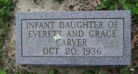 CARVER, INFANT DAUGHTER - Sharp County, Arkansas   INFANT DAUGHTER CARVER - Arkansas Gravestone Photos