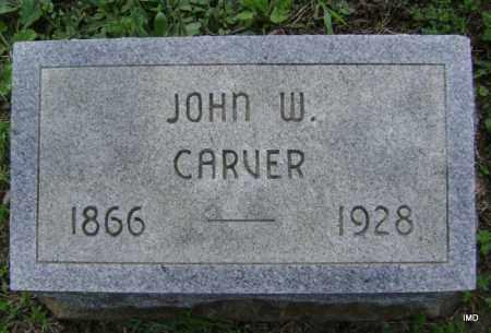CARVER, JOHN W - Sharp County, Arkansas | JOHN W CARVER - Arkansas Gravestone Photos