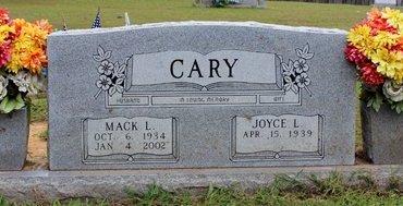 CARY, MACK L. - Sharp County, Arkansas | MACK L. CARY - Arkansas Gravestone Photos