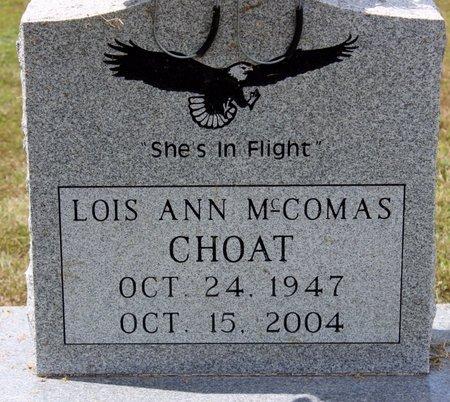 CHOAT, LOIS ANN - Sharp County, Arkansas   LOIS ANN CHOAT - Arkansas Gravestone Photos
