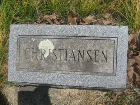 CHRISTIANSEN, UNKNOWN - Sharp County, Arkansas   UNKNOWN CHRISTIANSEN - Arkansas Gravestone Photos